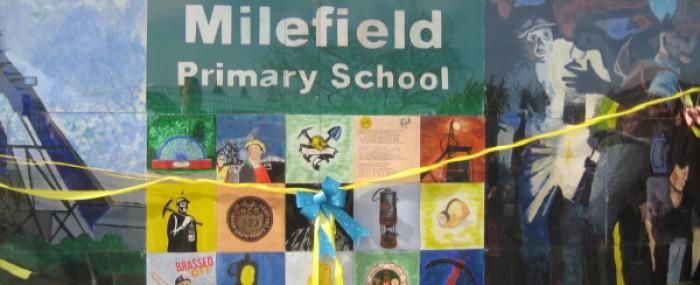 Dedication Of Nameboard At Milefield School thumbnail