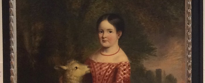 Girl with a Lamb Unveiled thumbnail
